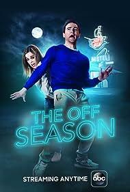 Robert Belushi and Erica Rhodes in The Off Season (2017)