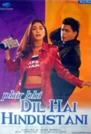 Phir Bhi Dil Hai Hindustani (2000) Hindi 720p HEVC HDRip x265 AAC MSubs Full Bollywood Movie [800MB]