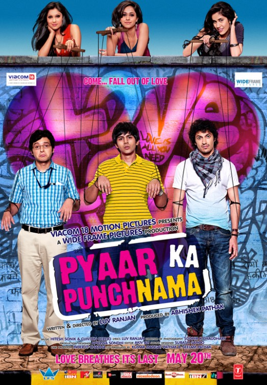 Pyaar Ka Punchnama (2011) BluRay [1080p-720p-480p] Hindi x264 AAC 5.1 ESub