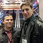 Max Hechtman and Bryan Fitzgerald at the 2016 Big Apple Film Festival.