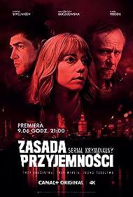 Karel Roden, Malgorzata Buczkowska, and Sergey Strelnikov in Zasada przyjemnosci (2019)