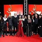 Salwa Nakkara, Udi Aloni, Tamer Nafar, Tarik Kopty, and Samar Qupty at an event for Junction 48 (2016)