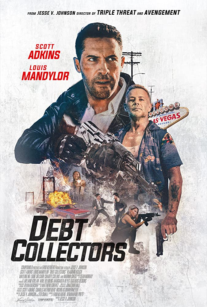 Debt Collectors (2020) English 720p HDRip Esubs DL