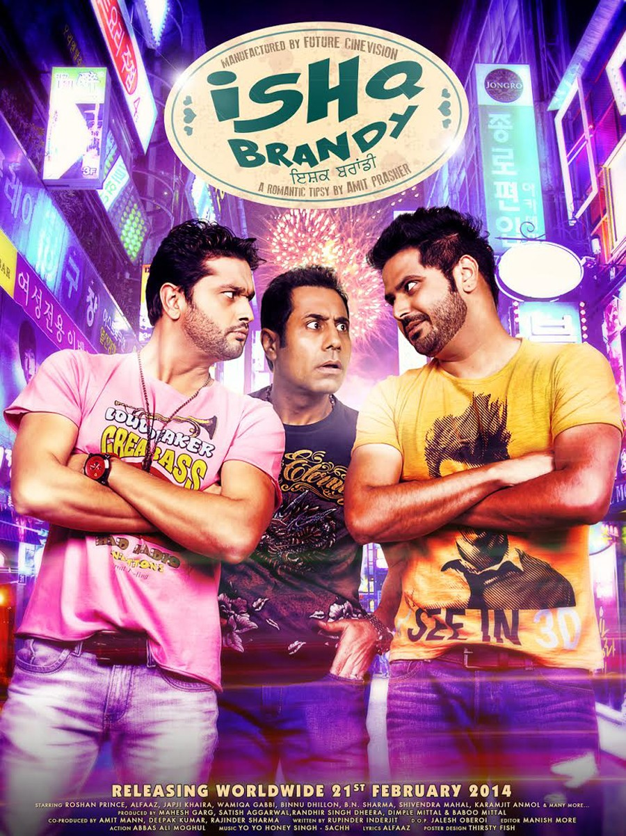 Ishq Brandy 2014 Punjabi 720p HDRip 850MB ESubs
