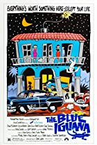 The Blue Iguana (1988) Poster