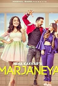 Neha Kakkar, Rubina Dilaik, and Abhinav Shukla in Neha Kakkar Feat. Abhinav Shukla & Rubina Dilaik: Marjaneya (2021)