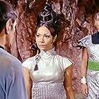 Leonard Nimoy, Arlene Martel, and Lawrence Montaigne in Star Trek (1966)