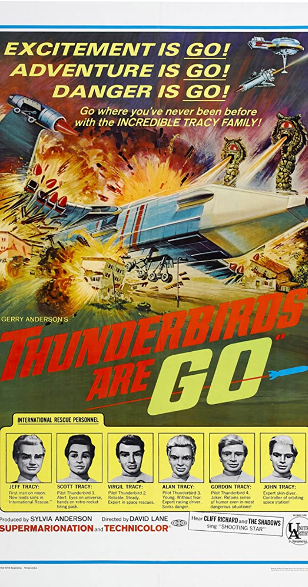 Thunderbirds Are GO (1968) Subtitles