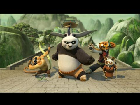 the Kung Fu Panda - Mitiche avventure full movie download in italian