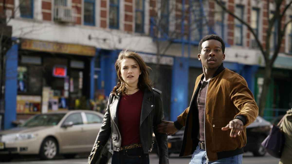 Violett Beane and Brandon Micheal Hall in God Friended Me (2018)