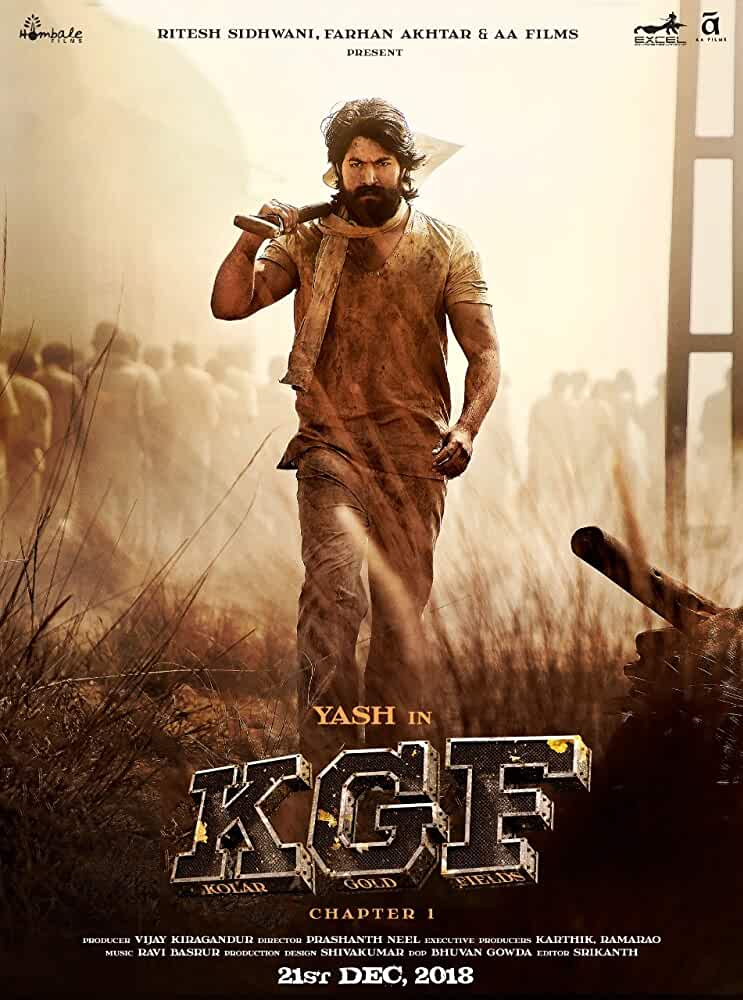 K.G.F: Chapter 1 (2018) Hindi Dubbed 400MB Pre-DVDRip 480p x264