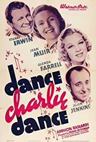 Stuart Erwin, Glenda Farrell, Allen Jenkins, and Jean Muir in Dance Charlie Dance (1937)