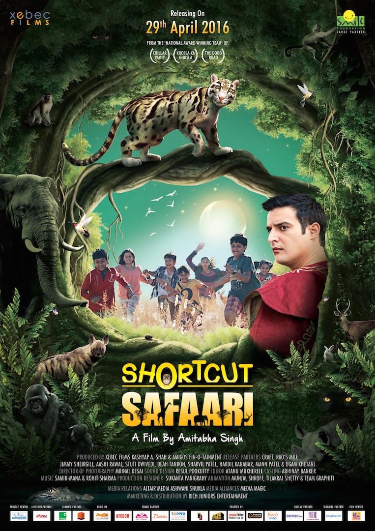 Shortcut Safari 2016 Hindi 480p WEB-DL 300MB