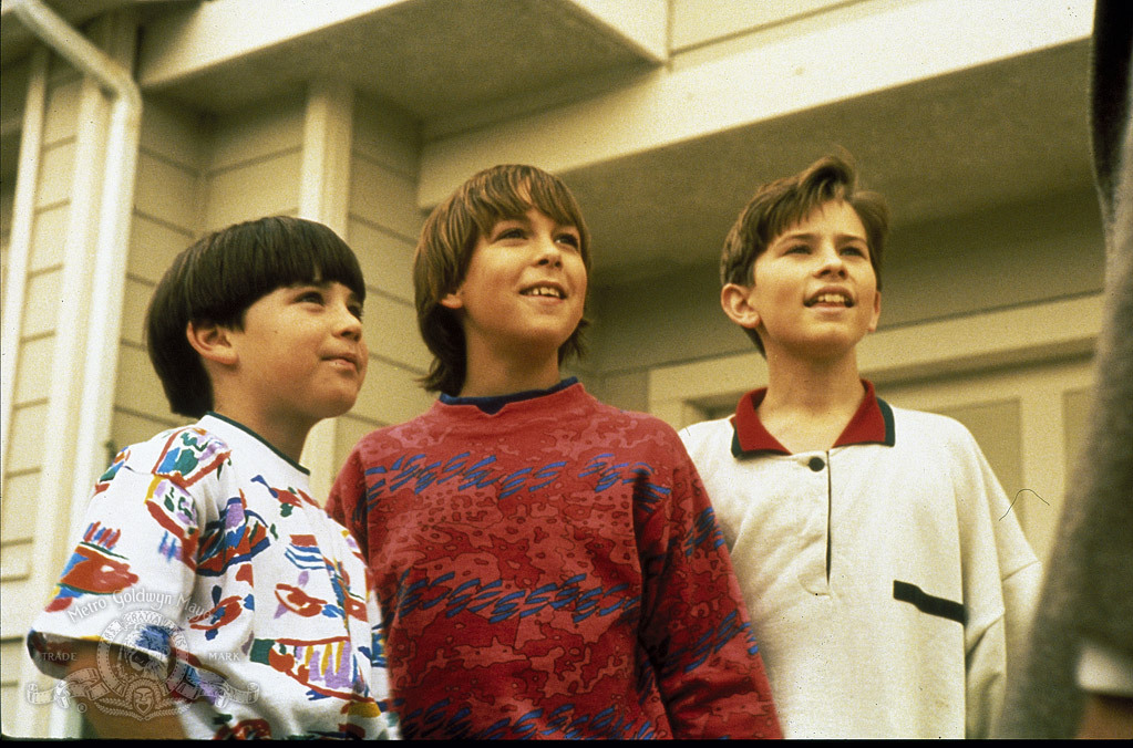 Chad Power, Max Elliott Slade, and Michael Treanor in 3 Ninjas (1992)