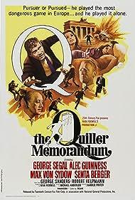 The Quiller Memorandum (1966) Poster - Movie Forum, Cast, Reviews