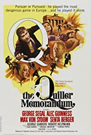 The Quiller Memorandum (1966) Poster - Movie Forum, Cast, Reviews