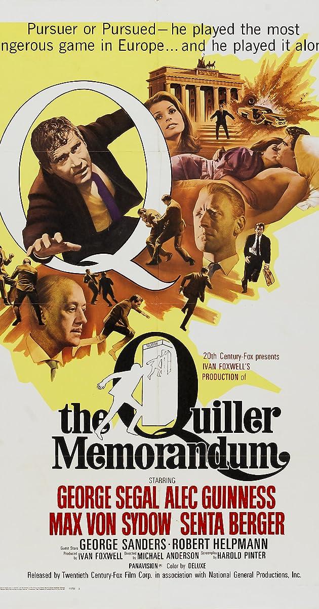Subtitle of The Quiller Memorandum