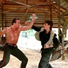 Loren Avedon and Matthias Hues in No Retreat, No Surrender 2: Raging Thunder (1987)