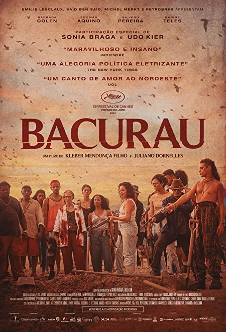 Bacurau (2019) Portuguese  WEB-DL - 480P | 720P - x264 - 400MB | 1GB - Download & Watch Online With Subtitle Movie Poster - mlsbd