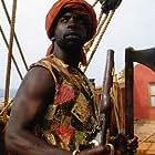 Jimmy Akingbola in Blackbeard BBC1.