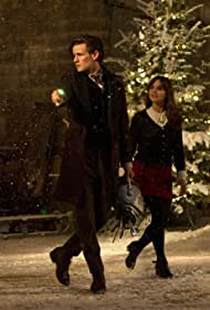 Matt Smith and Jenna Coleman in Doctor Who (2005)