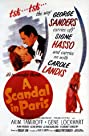 A Scandal in Paris (1946) Poster