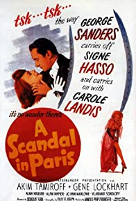 Primary photo for A Scandal in Paris