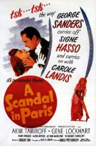 Website to download hollywood movies A Scandal in Paris USA [mkv]