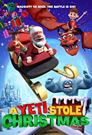 A Yeti Stole Christmas Poster
