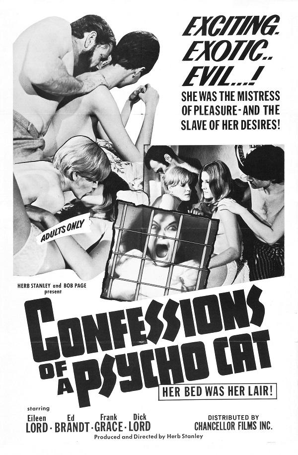 Confessions of a Psycho Cat (1968)