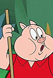 Porky and Thes Poster