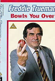 Fred Trueman Bowls You Over Poster