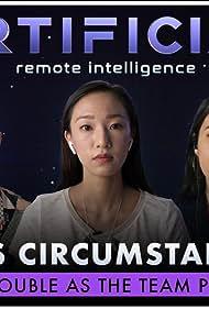 Justin Lee, Alejandra Reynoso, and Tiffany Chu in Curious Circumstances (2020)