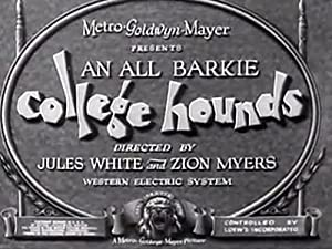 Jules White College Hounds Movie