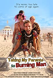Taking My Parents to Burning Man Poster