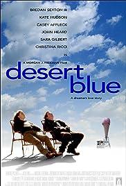 Desert Blue Poster