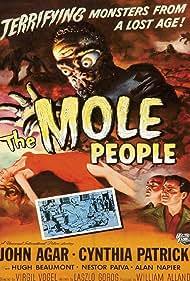 John Agar in The Mole People (1956)