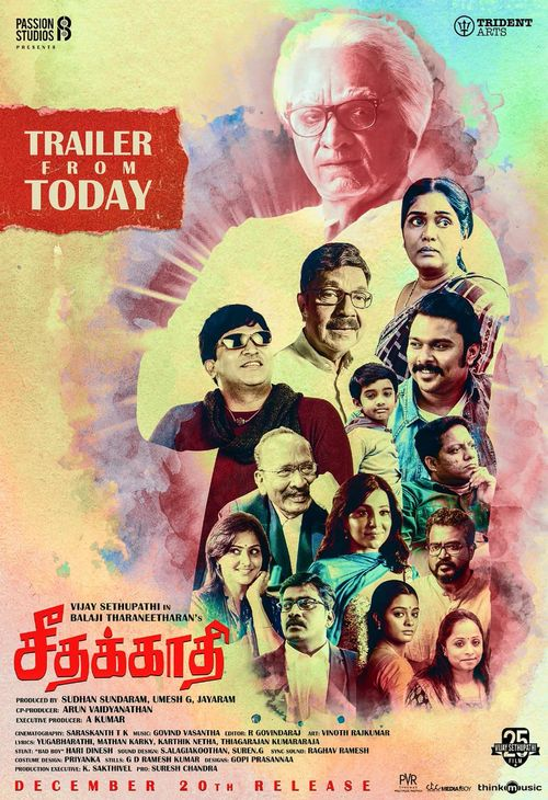 Seethakaathi 2020 Hindi Dubbed Movie 480p HDRip 400MB x264 AAC