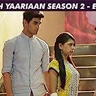 Niti Taylor, Charlie Chauhan, Yuvraj Thakur, and Karan Jotwani in Kaisi Yeh Yaariyan (2014)