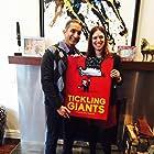 Sara Taksler and Bassem Youssef in Tickling Giants (2016)