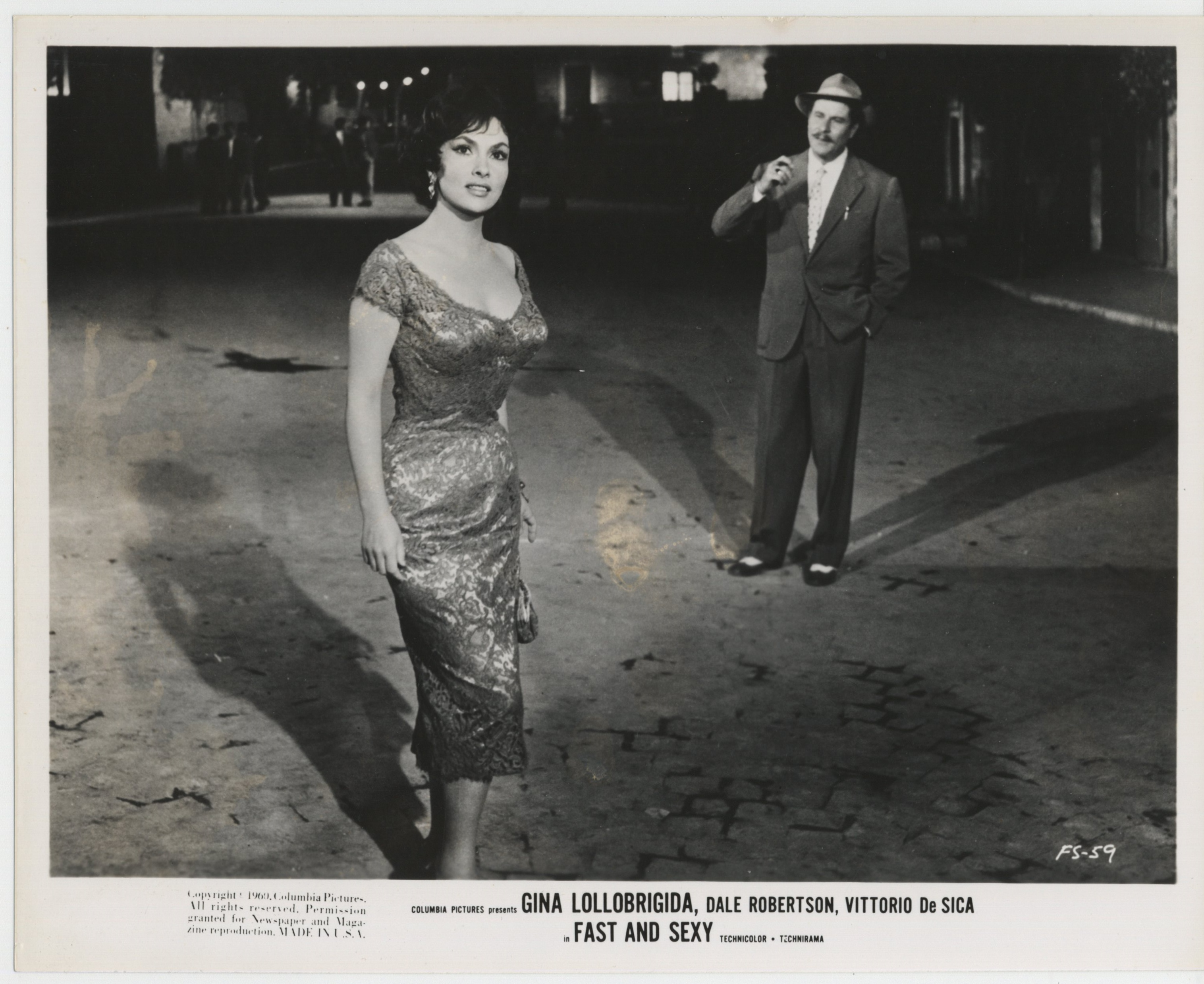 Gina Lollobrigida in Anna di Brooklyn (1958)