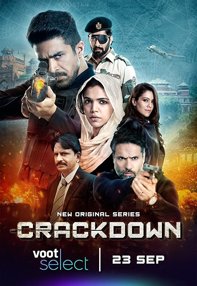 Crackdown S01 2020 Hindi Complete Voot Select Web Series 480p HDRip 800MB