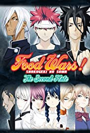 Food Wars! The Second Plate Poster