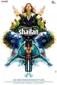 Neil Bhoopalam, Shiv Panditt, Kalki Koechlin, Gulshan Devaiah, Rajeev Khandelwal, and Kirti Kulhari in Shaitan (2011)