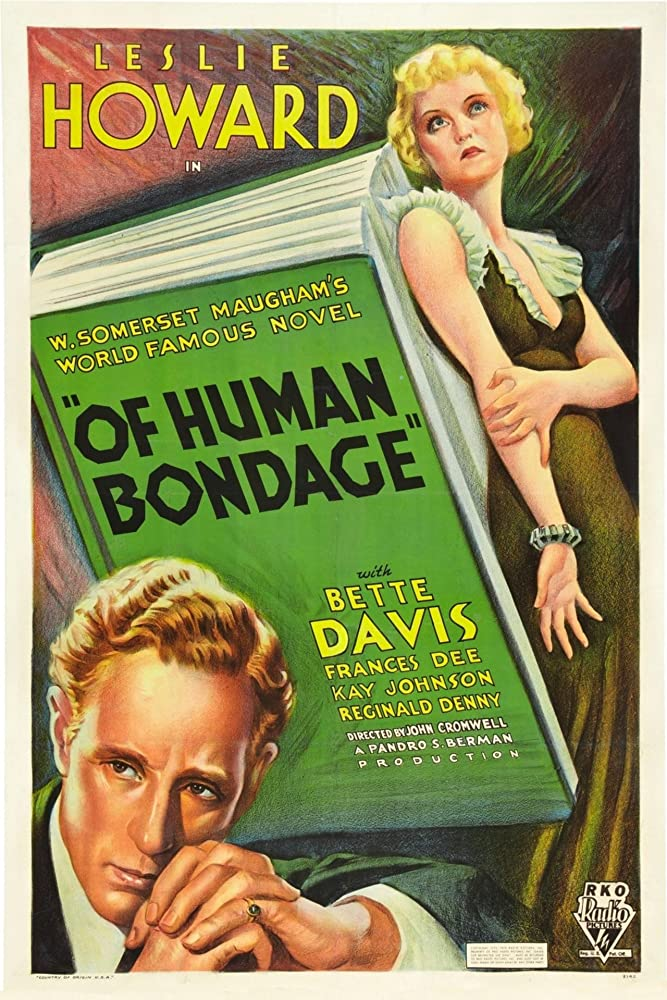 Bette Davis and Leslie Howard in Of Human Bondage (1934)