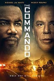 Mickey Rourke and Michael Jai White in The Commando (2022)