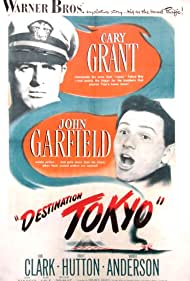 Cary Grant and John Garfield in Destination Tokyo (1943)