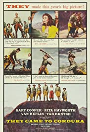 They Came to Cordura (1959) 720p