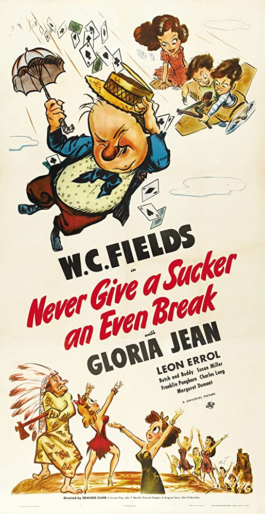 W.C. Fields in Never Give a Sucker an Even Break (1941)