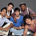 Justin Martin, Tyler Posey, Booboo Stewart, Manish Dayal, and Gregg Sulkin in White Frog (2012)